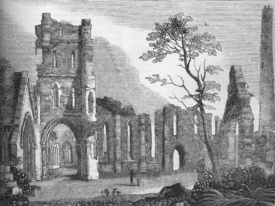 'Cathedral of Kildare', 1845-Unknown-Giclee Print