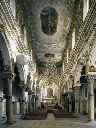 Cathedral of Matera, Interior, Basilicata, Italy--Giclee Print