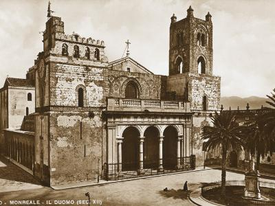 Cathedral of Monreale, Sicily--Photographic Print