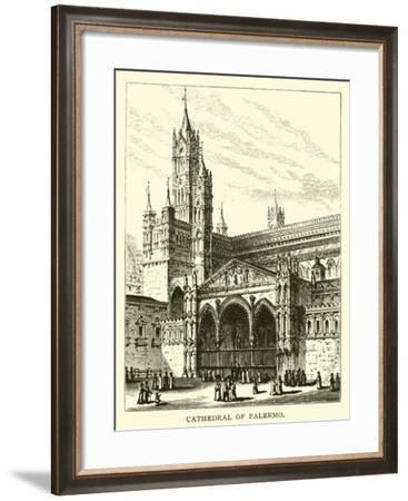 Cathedral of Palermo--Framed Giclee Print