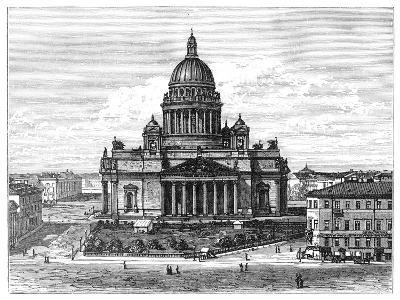 Cathedral of St Isaac, St Petersburg, Russia, 1900--Giclee Print