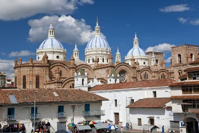Cathedral of the Immaculate Conception, Built in 1885, Cuenca, Ecuador-Peter Adams-Photographic Print
