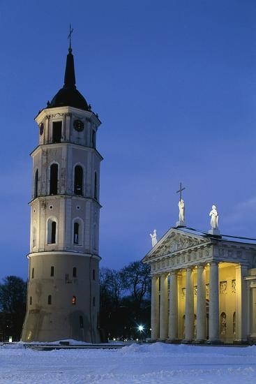 Cathedral of Vilnius--Photographic Print