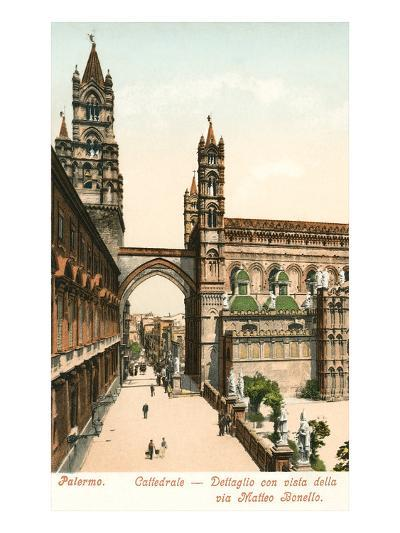 Cathedral, Palermo, Sicily, Italy--Art Print