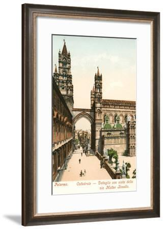 Cathedral, Palermo, Sicily, Italy--Framed Art Print