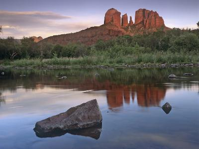 Cathedral Rock at Red Rock Crossing, Arizona, Usa-Tim Fitzharris-Photographic Print