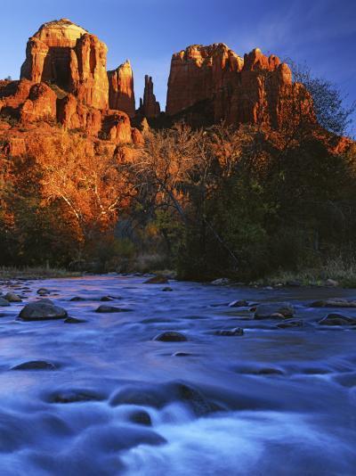 Cathedral Rock, Oak Creek, Arizona, USA-Charles Gurche-Photographic Print