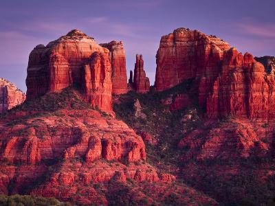 Cathedral Rock of Sedona, Arizona-Mike Cavaroc-Photographic Print