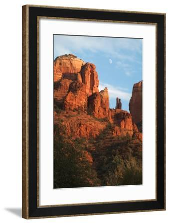 Cathedral Rock, Red Rock State Park, Sedona, Arizona-Natalie Tepper-Framed Photo