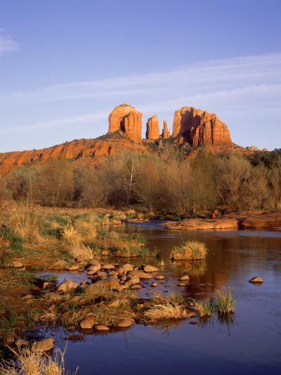 Cathedral Rocks, Sedona, USA-Mark Hamblin-Photographic Print