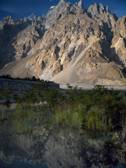 Cathedral Spire Mountains Passu in Northern Pakistan-Antonia Tozer-Photographic Print