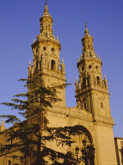 Cathedral Spries, 18th Century, Logrono, La Rioja, Castile and Leon, Spain, Europe-Ken Gillham-Photographic Print