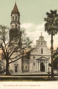 Cathedral, St. Augustine, Florida