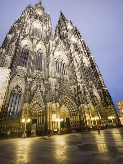 Cathedral, UNESCO World Heritage Site, Cologne, Germany, Europe-Martin Child-Photographic Print