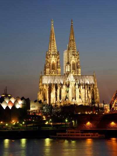 Cathedral, UNESCO World Heritage Site, Cologne, North Rhine Westphalia, Germany, Europe-Hans Peter Merten-Photographic Print
