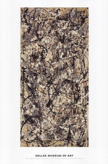 Cathedral-Jackson Pollock-Art Print