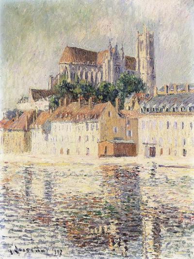 Cathedrale d'Auxerre-Gustave		 Loiseau-Giclee Print