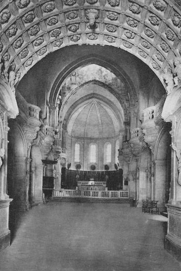 'Cathedrale D'Avignon. - Cathedral Inside', c1925-Unknown-Photographic Print