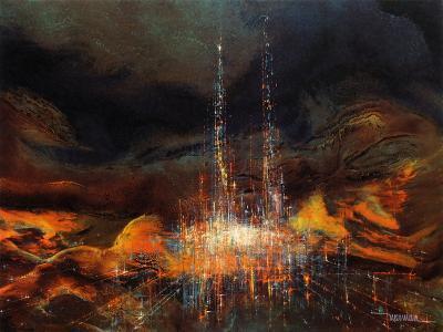 Cathédrale de lumière-Leonardo Nierman-Premium Edition