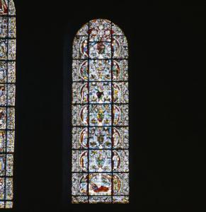 """Cathédrale Notre Dame de Chartres. Vitrail : """"L'arbre de Jessé"""""""