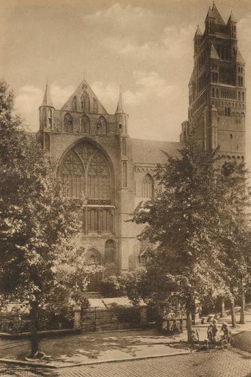 'Cathedrale Saint-Sauveur', c1928-Unknown-Photographic Print