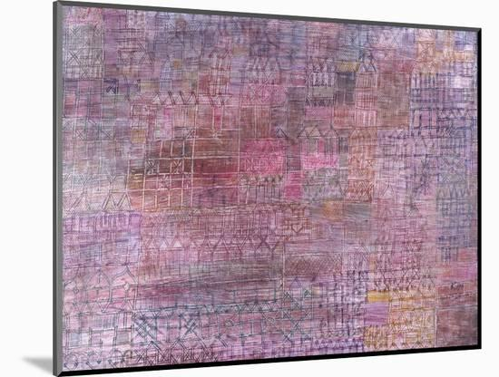 Cathedrals; Kathedralen-Paul Klee-Mounted Premium Giclee Print