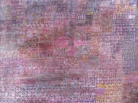 Cathedrals; Kathedralen-Paul Klee-Giclee Print