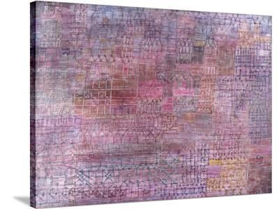 Cathedrals-Paul Klee-Stretched Canvas Print