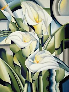 Cubist Lilies, 2002 by Catherine Abel