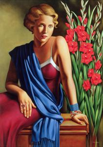 Girl with the Scarab Ring by Catherine Abel