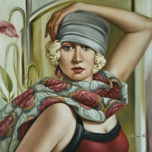 Grey Cloche by Catherine Abel