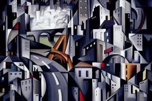 La Rive Gauche, 2002 by Catherine Abel