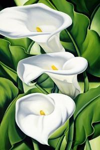 Lilies, 2002 by Catherine Abel