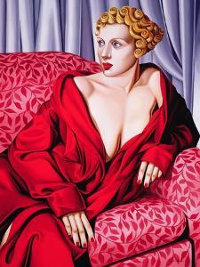 Red Kimono, 2001 by Catherine Abel