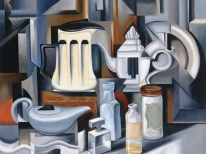 Still Life with Teapots by Catherine Abel