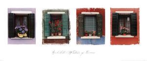 Windows of Burano by Catherine Archuleta