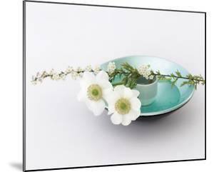 Flowers & Bowl by Catherine Beyler