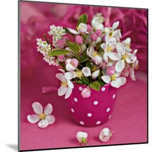 Flowers in Pink by Catherine Beyler