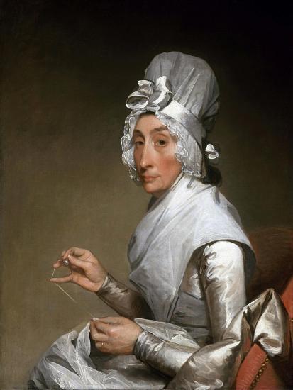 Catherine Brass Yates (Mrs. Richard Yates)-Gilbert Stuart-Giclee Print