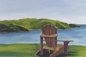 Adirondack Chair by Catherine Breer