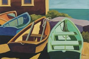 Beached Boats by Catherine Breer