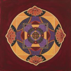Bliss Mandala by Catherine Breer