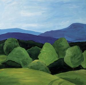 Bristol Cliffs Vermont by Catherine Breer