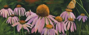 Cone Flowers by Catherine Breer