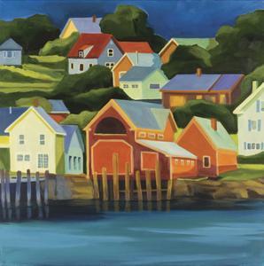 Houses by Catherine Breer