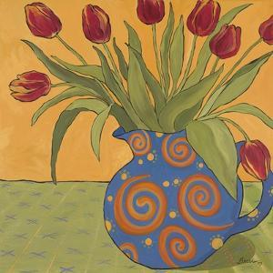 Red Tulips by Catherine Breer