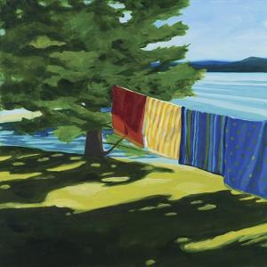 Towels at Tracy's Camp by Catherine Breer