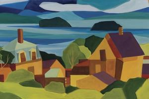 View of Stonington Harbor by Catherine Breer