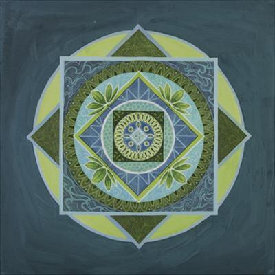 Wendy Mandala by Catherine Breer