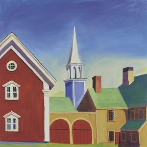 Wiscasset Barn by Catherine Breer